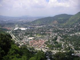 View over San Salvador
